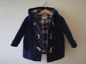 Toddler duffel coat 12-18 months