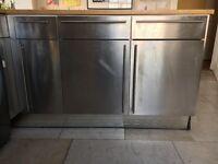 Silver Magnet Kitchen units