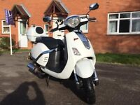 Lambretta Pato 151N Automatic Scooter - As new condition