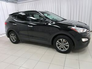 2013 Hyundai Santa Fe SPORT AWD SUV WITH HTD SEATS & STEERING WH