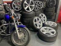 "19"" inch genuine Audi rs6 segment pealers alloys wheels 5x112 a4 a5 a6 a7 tt q3 Q5"