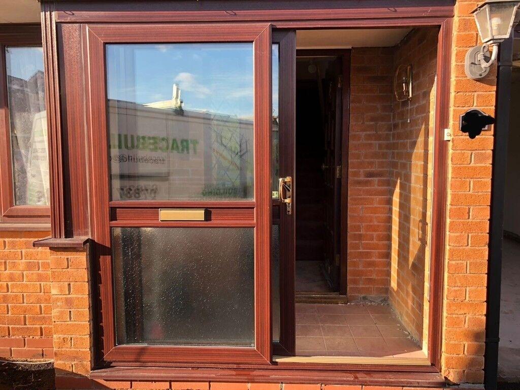 Exterior Brown Sliding Doors For Bargain Price