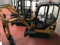 Mini Digger & Attachment Hire