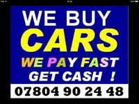 Ø78Ø4 9Ø2448 CARS VANS BIKE WANTED ALSO SCRAP NON RUNNERS DAMAGED CASH TODAY BUY MY SELL YOUR FAST Q