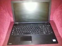 Untested Toshiba satellite c50 windows 8 laptop for spares or repairs