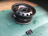 Peugeot 206 wheel rims - mint x 4