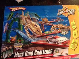 Hot Wheels Mega Dino Challenge Stunt Set....Boxed