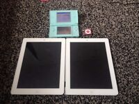 Spare and repairs Ipad 2 and Nintendo ds lite also ipod shuffle OFFERS