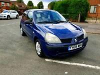 Renault Clio 1,2 petrol with new mot