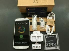 Samsung Galaxy S4 LTE 4G i9505 brand new pristine condition