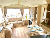 CHEAP FAMILY STATIC CARAVAN FOR SALE ON BEAUTIFUL SEA SIDE PARK , NR NEWCASTLE , MIDDLESBROUGH