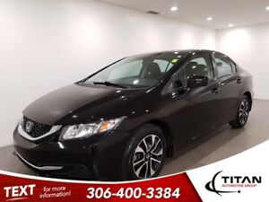 2015 Honda Civic EX|Local|CAM|Bluetooth|Sunroof