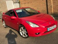 2003 TOYOTA CELICA 1.8 VVTI COUPE FACE LIFT MODEL RED 4 SEAT SPORT LOOK N MODIFIED MR2 3 SERIES