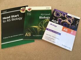 AS AQA Biology textbooks - CGP & Philip Allan