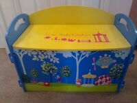Childrens In the night garden ITNG toy box nursery kids furniture storage draws bedroom CAN DELIVER