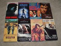 Lot of eight VHS Movies