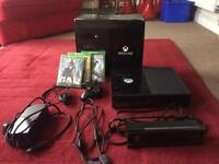 Xbox one, Kinect and 3 games