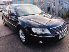 VW PHAETON 3.0 V6 4 MOTION DIESEL AUTOMATIC 2007 1 OWNER FULL HISTORY