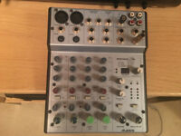 Alesis Multimix 6FX Mixer,charger ,Small mixer with effects and phantom power.verry good condition,
