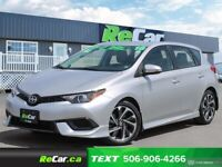 2016 Scion iM REDUCED | AUTO | BACKUP CAM | ONLY 52K Saint John New Brunswick Preview