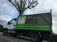 Rubbish clearance, collection, waste, removal, garden service.