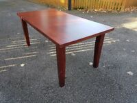 Solid Mahogany Wood Dining Table 180cm FREE DELIVERY 013