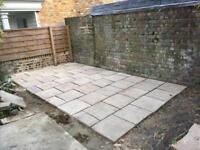 Patio tiles / slabs