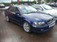 reduced to clear 53 plate volvo s40 top spec mot,d oct 2017 was £1695 now £795