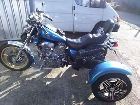 Virago 1000cc trike v twin