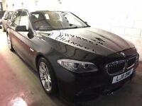 BMW 5 Series 2.0 520d M Sport Touring 5dr£10,985 p/x welcome NEW MOT. SAT NAV