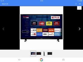 """40"""" Sharp tv Lc40CFG3021KF40 Brand new in box"""