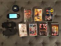 PlayStation Portable PSP & 7 Games