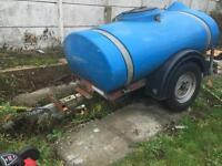 Western water bowser butt for sale