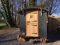 Luxury Shepherds Hut West Wales