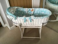 Joules magical Moses basket