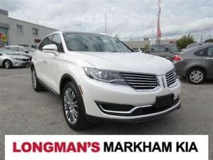 2016 Lincoln MKX Reserve Adaptive Cruise