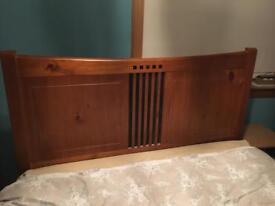 King size (5ft) wooden headboard