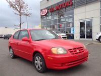 2004 Hyundai Accent LOW KM'S! AUTO KEYESS SOLD AS IS