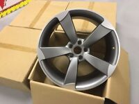 "19"" ROTOR ALLOYS WHEELS + TYRES -- FREE FITTING -- FIT ALL AUDI VW SEAT SKODA MERCEDES"
