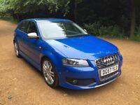 Audi S3 (8P) 57' 3dr Sprint Blue FASH & Warranty