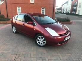 2005/55 TOYOTA PRIUS 1.5 T SPIRIT AUTO HYBRID 1 OWNER FULL TOYOTA SERVICE HISTORY EXCELLENT CAR