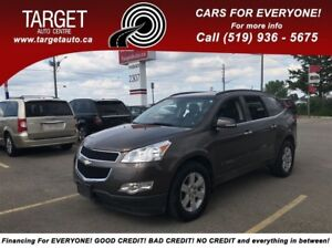 2009 Chevrolet Traverse 2LT, Leather, Double SunRoof, Drives Gre