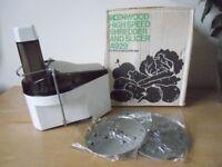 kenwood shredder/slicer attatchment
