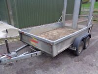 8 x 5 double axle trailer