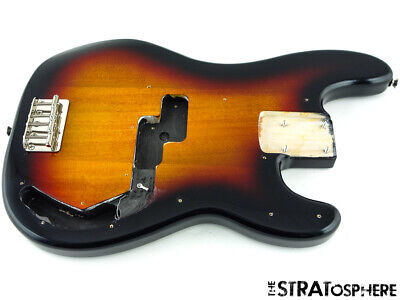 Fender Squier 60s Classic Vibe Precision P Bass BODY & HARDWARE Bass Guitar 3TS