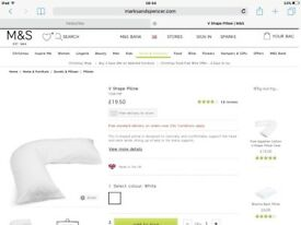 V support pillows