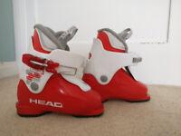 Child ski boots Head Size - 221mm