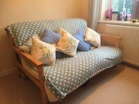 Futon bedcompany wooden Futon excellent quality Double size