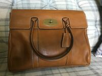 Mulberry Bayswater Oak Natural Leather