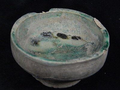 Ancient Teracotta Islamic Glazed Pot 1200 AD  #P15359#
